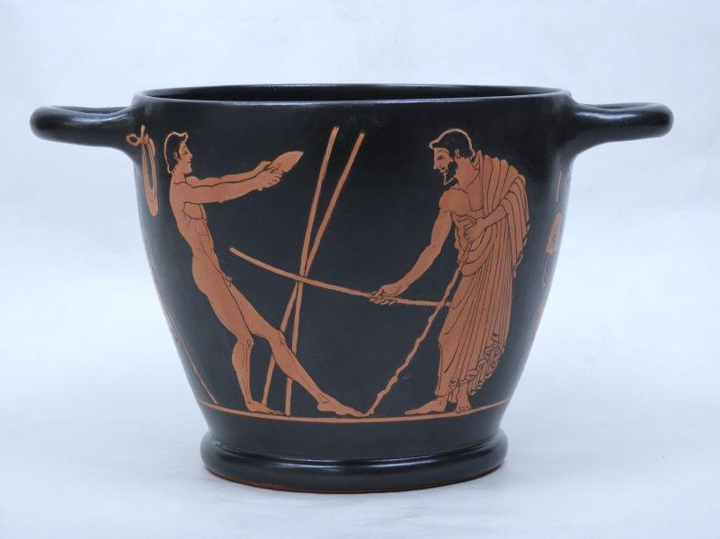 Red figure Classical skyphos Attica