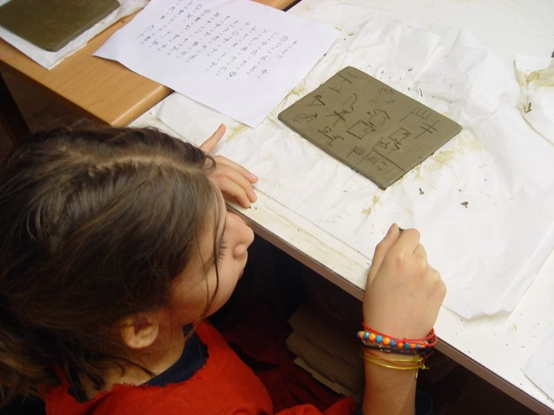 Decoding Linear B course  Hill Primary School