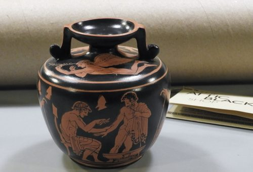 Decorated Classical Pottery & more