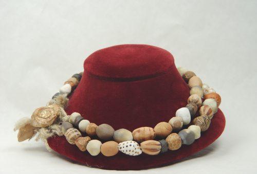 Handmade Ceramic-Beaded Jewelry Collection