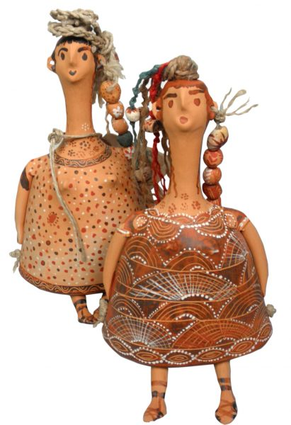 Bell-shaped dolls