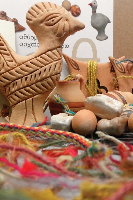 Ancient Greek toys for children made by Attick Black