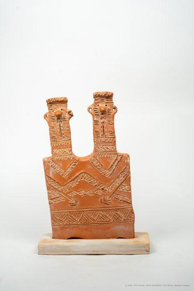 Twin plaque idol  Cyprus