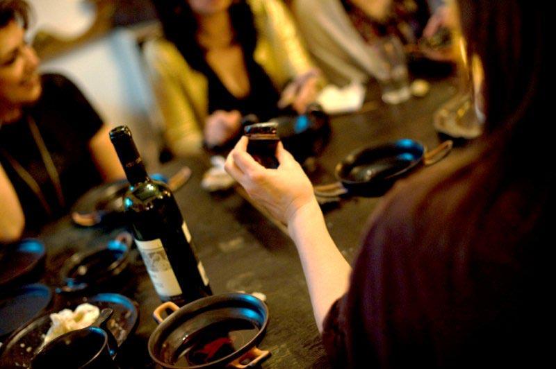 Wine-tasting on ancient Greek grand cru wines Historic Greek Gastronomy project