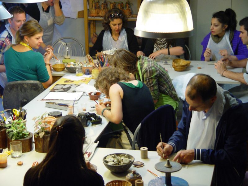 Ancient Ceramic technology from Theory to Practice  Training course for PhD students- NARNIA Marie Curie ITN EU Program