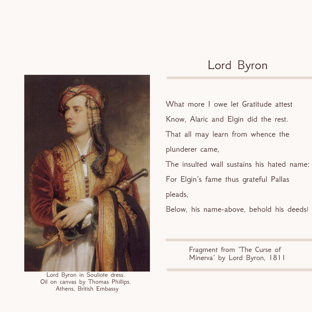 A Great Philhellene, a Greek National Hero, and above all a Romantic Poet: Lord Byron