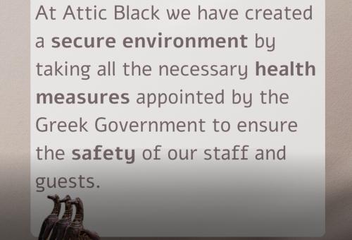 Attic Black's Health Measures against Covid-19